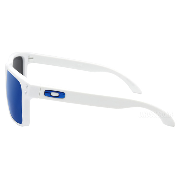 오클리 선글라스 홀브룩 OAKLEY CUSTOM HOLBROOK MATTE WHITE/ICE IRIDIUM/TEAM BLUE