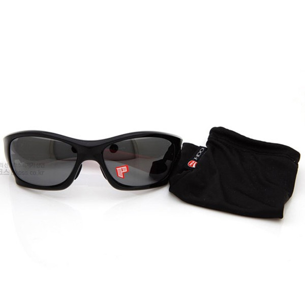 오클리 선글라스 핏불 듀카티 스페셜 편광 아시안 OO9161-10 OAKLEY ASIAN DUCATI POLARIZED PIT BULL POLISHED BLK/BLK IRIDIUM POLARIZED