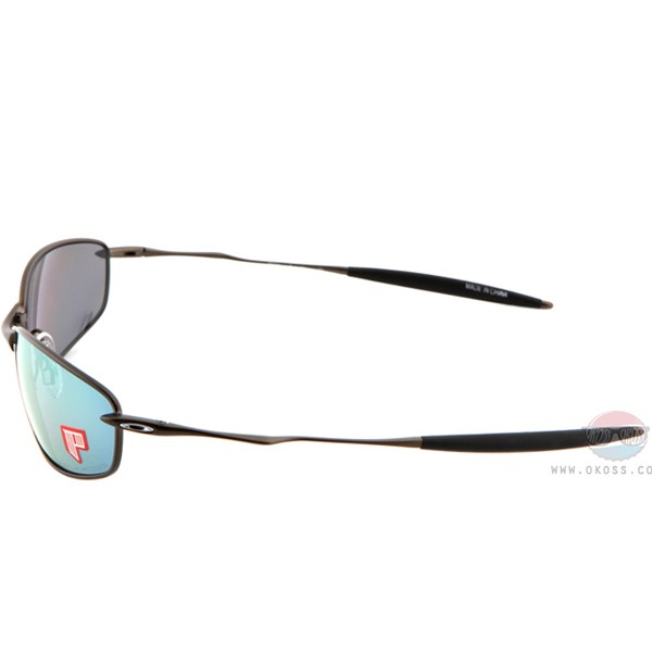 오클리 선글라스 위스커 편광렌즈 26-235 OAKLEY POLARIZED WHISKER LEAD/EMERALD IRIDIUM POLARIZED