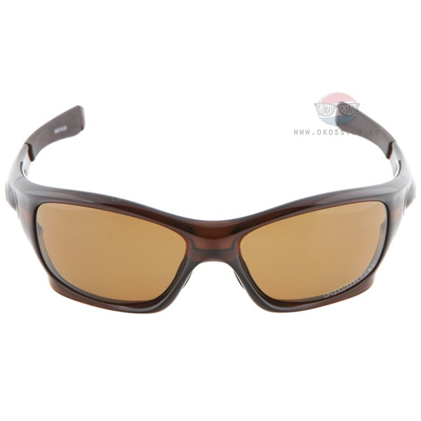 오클리 선글라스 핏불 아시안핏 편광렌즈 OO9161-08 OAKLEY ASIAN POLARIZED PIT BULL POLISHED ROOT BEER/BRONZE POLARIZED