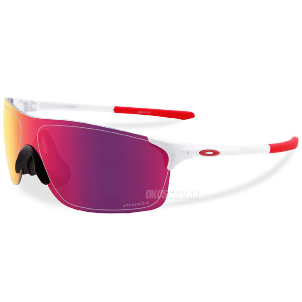 오클리 선글라스 EV 제로 피치 프리즘 아시안핏 OO9388-04 OO9388-0438 OAKLEY ASIAN EVZERO PITCH PRIZM ROAD POLISHED WHITE/PRIZM ROAD