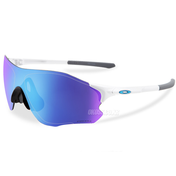 오클리 선글라스 EV 제로 패스 프리즘 아시안핏 OO9313-1538 OO9313-15 OAKLEY ASIAN EVZERO PATH POLISHED WHITE/PRIZM SAPPHIRE IRIDIUM
