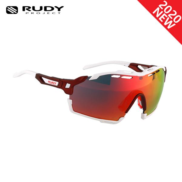 루디프로젝트 RUDY PROJECT/컷라인 매트 메를로_화이트 범퍼/멀티레이저 레드 SP633812-0003/CUTLINE MULTILASER RED