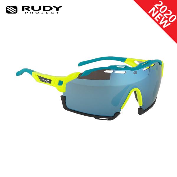 루디프로젝트 RUDY PROJECT/컷라인 글로스 옐로우 플루오_워터+블랙 범퍼/멀티레이저 아이스 SP636876-0002/CUTLINE MULTILASER ICE