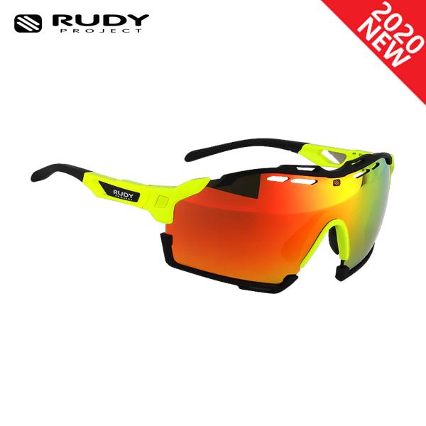 루디프로젝트 RUDY PROJECT/컷라인 글로스 옐로우 플루오_블랙 범퍼/멀티레이저 오렌지 SP634076-0000/CUTLINE MULTILASER ORANGE