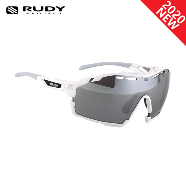 루디프로젝트 RUDY PROJECT/컷라인 글로스 화이트 _화이트 범퍼/레이저 블랙 SP630969-0005/CUTLINE RASER BLK