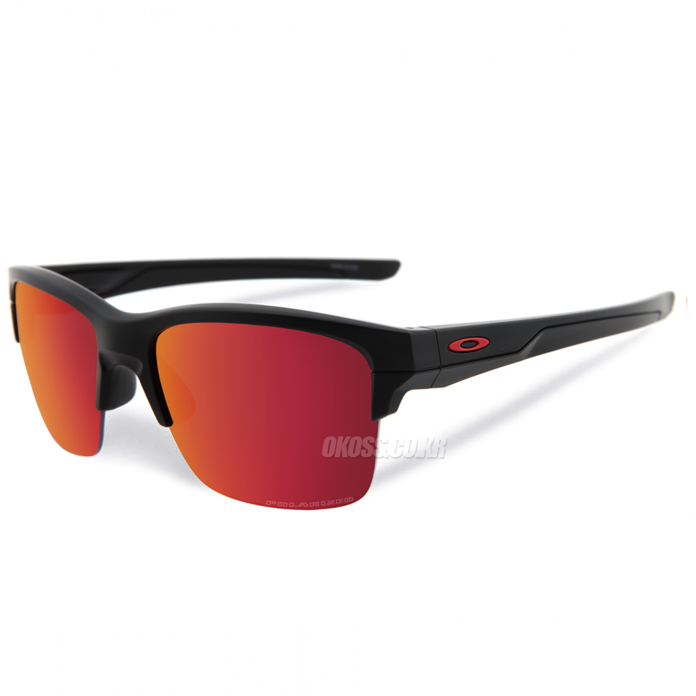 오클리 선글라스 씬링크 편광렌즈 OO9316-07 OAKLEY POLARIZED THINLINK MATTE BLACK/TORCH IRIDIUM POLARIZED