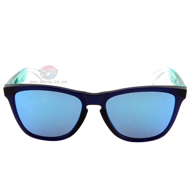 오클리 선글라스 프로그스킨 서프 콜렉션 OO9013-44 OO9013-4455 OAKLEY SURF COLLECTION FROGSKINS BLUE/SAPPHIRE IRIDIUM