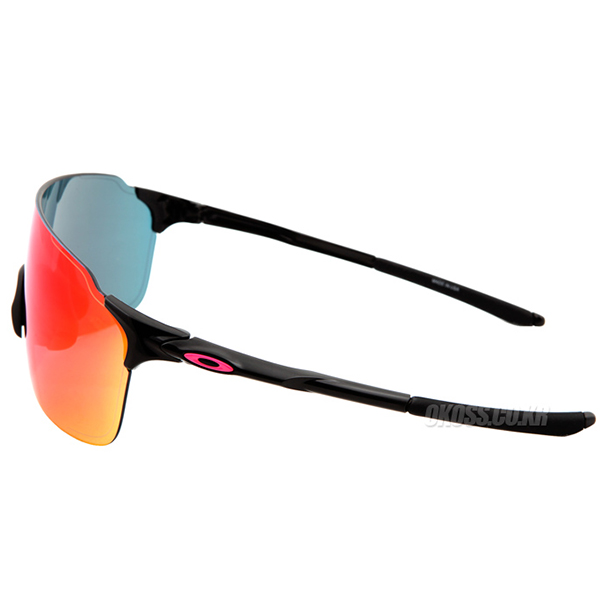 오클리 선글라스 EV 제로 스트라이드 아시안핏 OO9389-03 OO9389-0338 OAKLEY ASIAN EVZERO STRIDE POLISHED BLACK/RED IRIDIUM