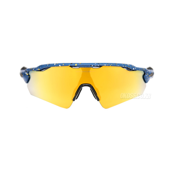 오클리 선글라스 레이다 EV 패스 아시안핏 OO9275-2635 OO9275-26 OAKLEY ASIAN RADAR EV PATH SPLATTER POSEIDON/24K IRIDIUM