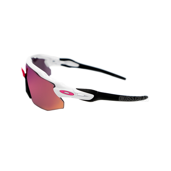오클리 선글라스 레이다 EV 어드벤서 프리즘 OO9442-0438 OO9442-04 OAKLEY RADAR EV ADVANCER POLISHED WHITE/PRIZM ROAD BLACK