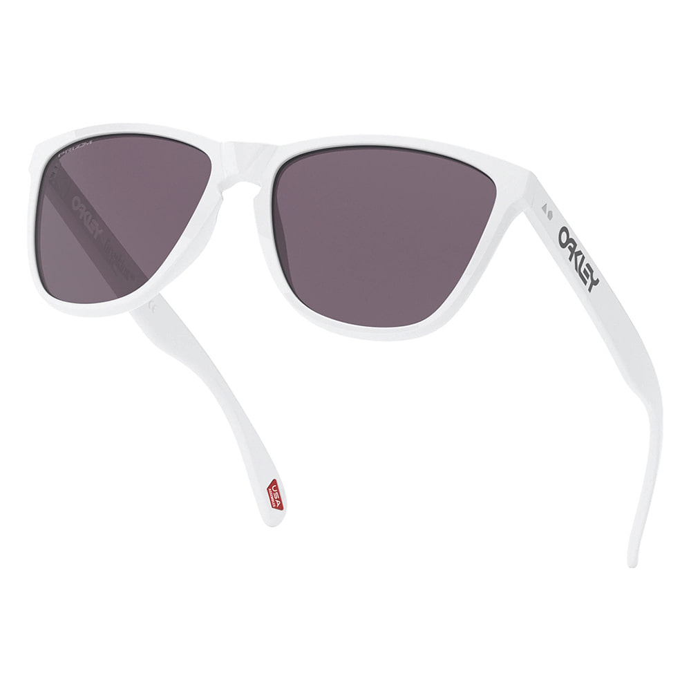 오클리 선글라스 프로그스킨 35주년 아시안핏 OO9444F-0157 OO9444F-01 OAKLEY ASIAN FROGSKINS 35TH_POLISHED WHITE/PRIZM GREY