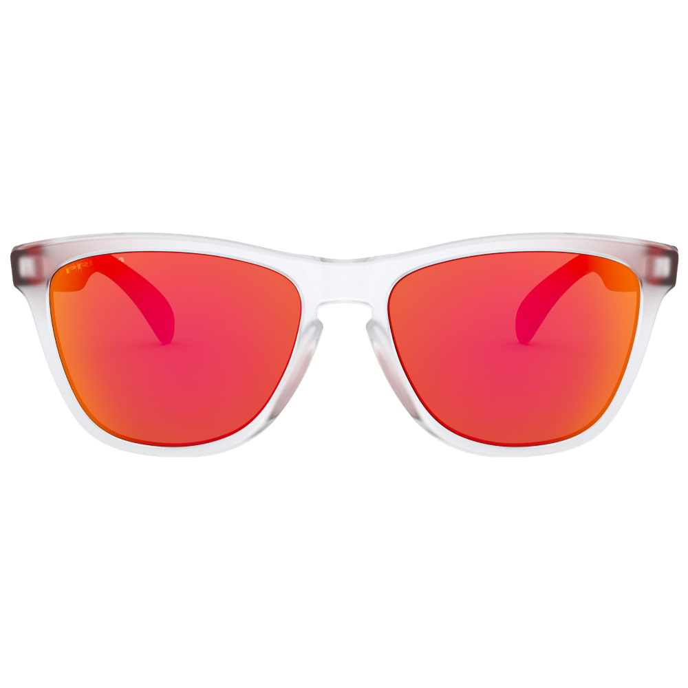 오클리 선글라스 프로그스킨 프리즘 아시안핏 OAKLEY_OO9245-A954_ASIAN FROGSKINS YEAR OF THE RAT MATTE CLEAR/PRIZM RUBY