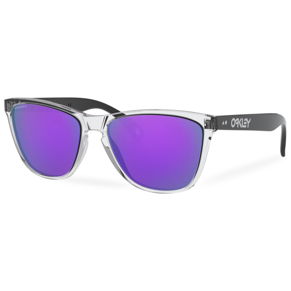 오클리 선글라스 프로그스킨 35주년 아시안핏 OO9444F-0557 OO9444F-05 OAKLEY ASIAN FROGSKINS 35TH_POLISHED CLEAR/PRIZM VIOLET
