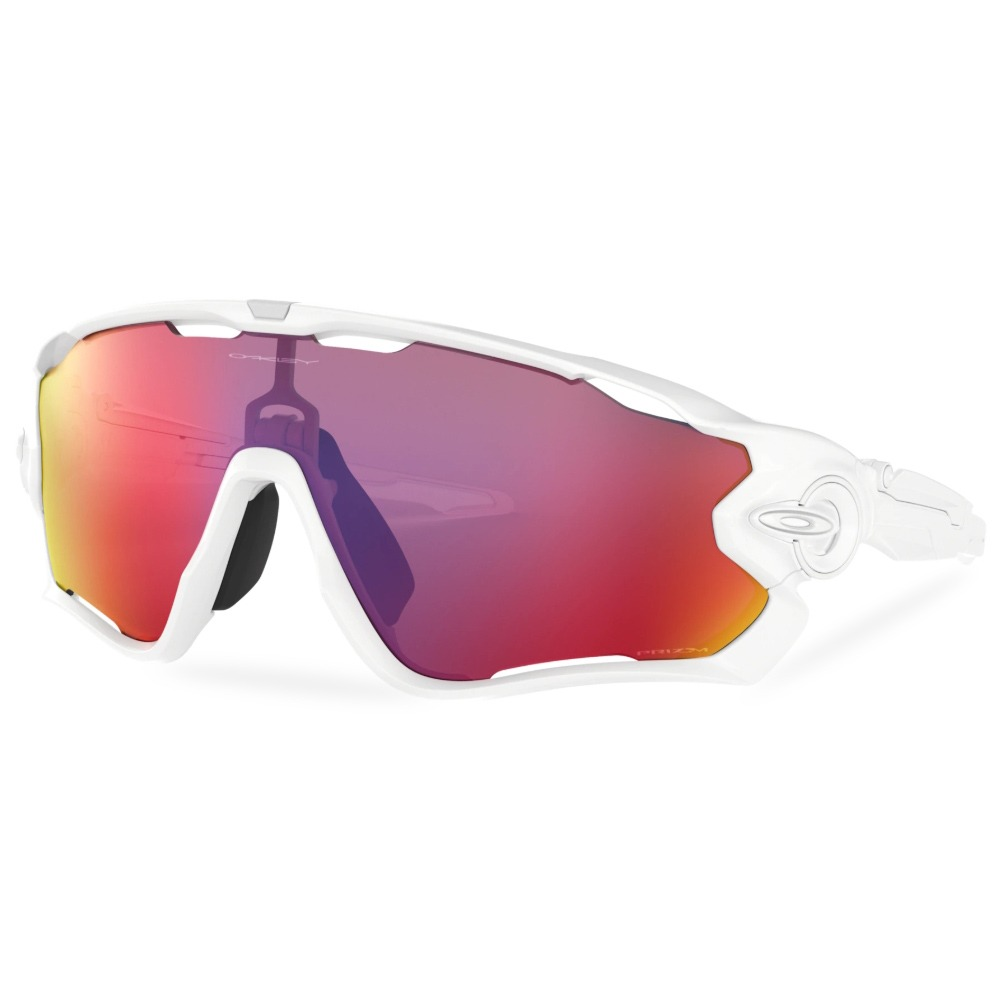 오클리 선글라스 죠브레이커 프리즘 OO9290-5531 OO9290-55 OAKLEY JAWBREAKER_POLISHED WHITE/PRIZM ROAD