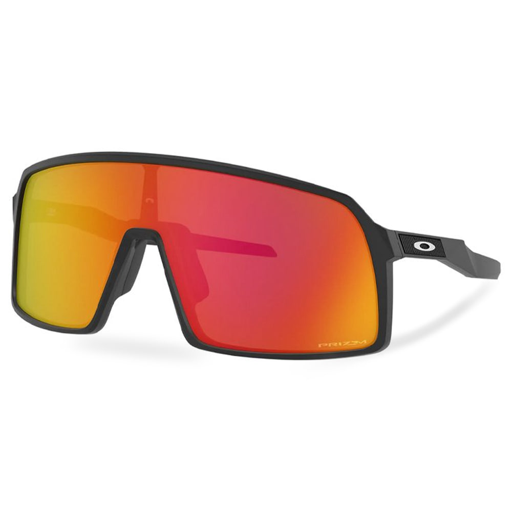 오클리 선글라스 수트로 아시안핏 OAKLEY_OO9406A-2037 OO9406A-20_ASIAN SUTRO_MATTE BLACK/PRIZM RUBY